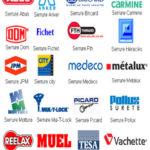 logos des marque de serrure sur Paris