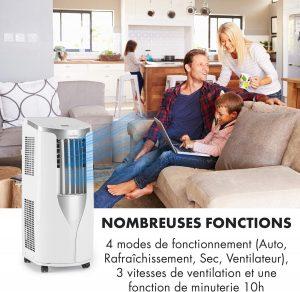 climatiseur mobile 12000 btu